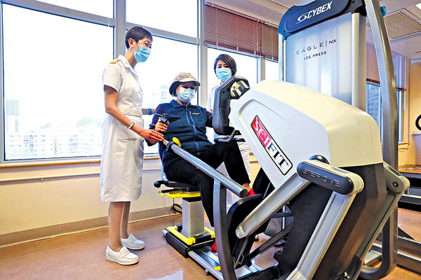 染疫長者易氣喘肌萎 物理治療助改善