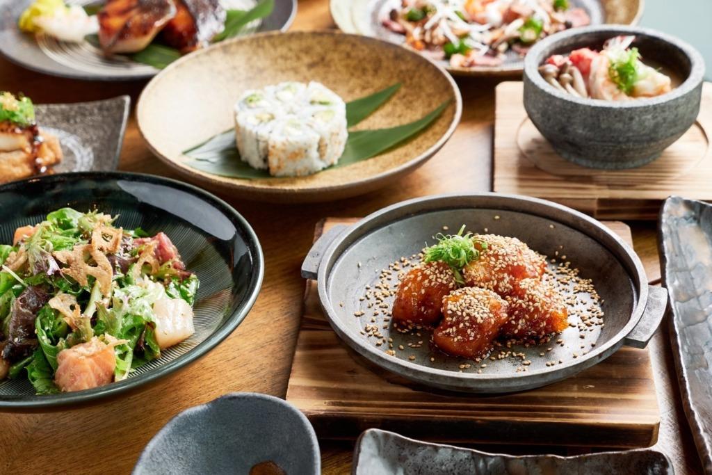 【中環素食】中環居酒屋Kyoto Joe晚市日式素食放題 2小時任食爐端燒/天婦羅/卷物/熱盤