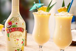 【Baileys甜酒】Baileys官方推出全新季節限定口味   愛爾蘭甜酒版Pina Colada!
