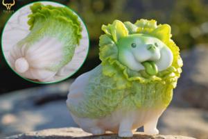 可愛毛孩動物化身蔬菜精靈公仔 大白菜柴犬/白蘿蔔狐狸/大蒜貓/花椰菜鼠