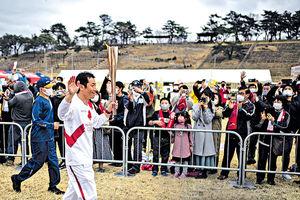 東奧傳聖火開跑 「如櫻花綻放帶來希望」