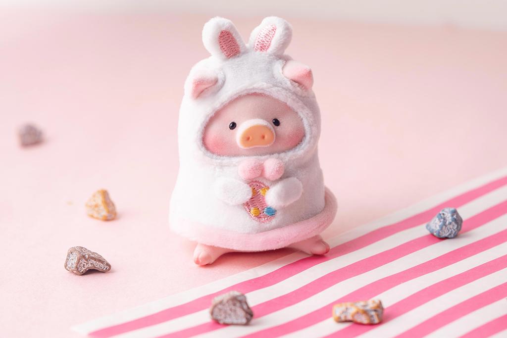 【Lulu豬香港|Lulu豬哪裡買】復活節Lulu豬公仔限定版新登場 罐頭豬變身復活兔可愛爆燈!