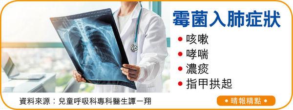 潮濕天咳不停 隨時霉菌入肺