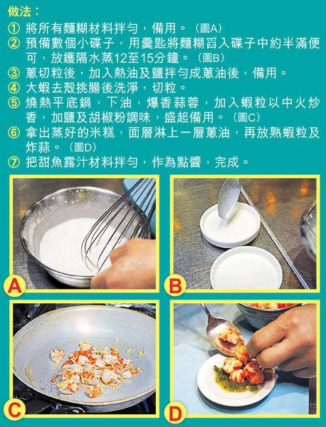 大廚教煮 香口越式小米糕抗悶熱
