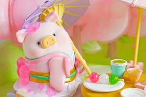 【Lulu豬香港|Lulu豬哪裡買】第二代櫻花Lulu豬春日賞櫻系列 粉嫩罐頭豬換上日式和服/JK水手服!
