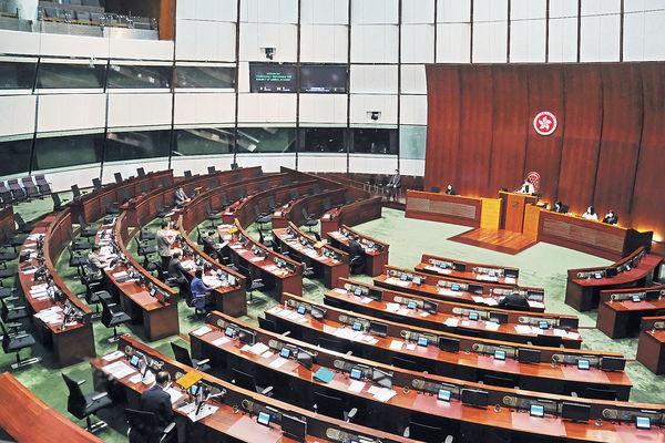 取消強積金對沖 或下屆立會處理 選舉修例法案下周三首讀