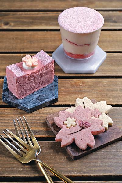 4月限定 粉紅浪漫櫻花甜品