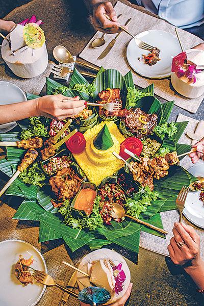 米芝蓮餐廳 春季特色薑黃飯