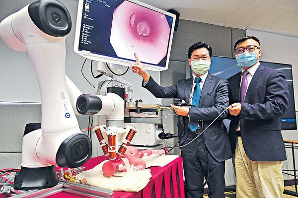 中大研發 幹細胞機械人深入人體微管道 助及早防病