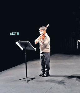 被批力谷兒子考5級小提琴入名校 陳倩揚︰囝囝學得好開心