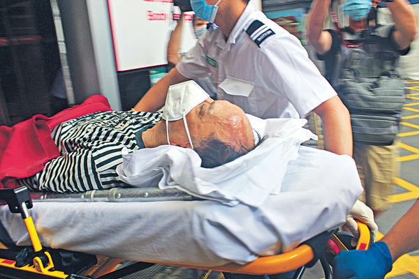 推人出馬路狂徒 隔2月又出沒 61歲男九龍城遇襲捱車撞