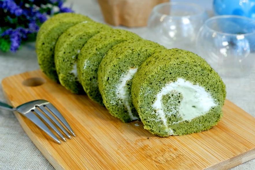 【日東卷蛋】神還原人氣日本甜品  抹茶日東卷蛋食譜