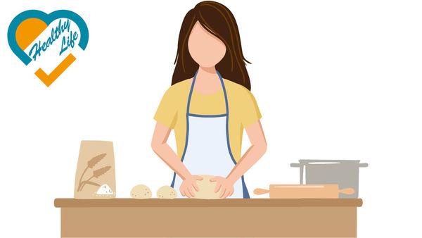 純白麵粉熱量高 鹽太多易水腫 自製麵包致肥陷阱
