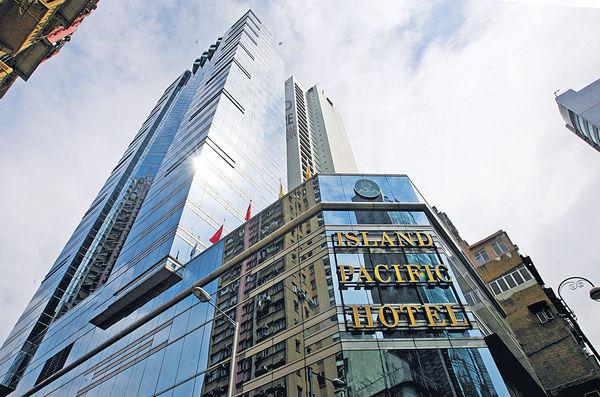 批量租予一機構 港島太平洋酒店暫停業