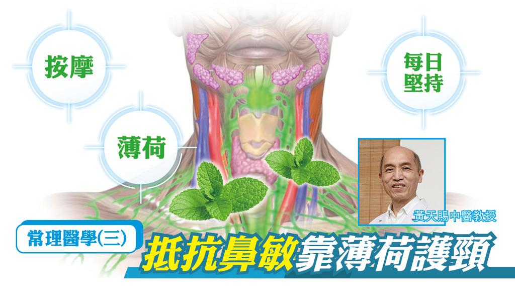常理醫學(三) 抵抗鼻敏靠薄荷護頸 歐瑞偉 x 黃天賜中醫教授