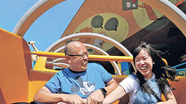 迪士尼15個夢想 父女做同事感情更深厚