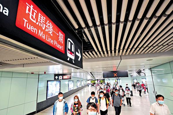 屯馬綫下月2日全面測試 頭班車遲開2小時 10綫免費接駁巴疏導