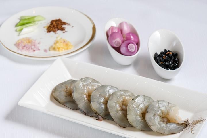 【中式食譜】陳皮乾葱豆豉炒蝦球 秘傳 4式   炒出爽彈蝦球