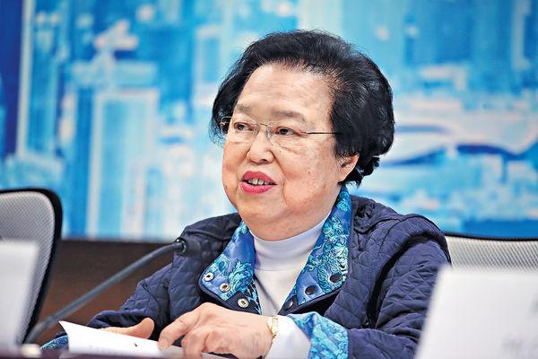 譚惠珠︰「唯直選論」 無助良政善治