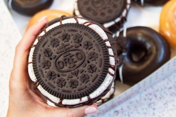 【冬甩推介】美國Krispy Kreme推出新系列   超吸引原塊OREO忌廉/脆皮冬甩