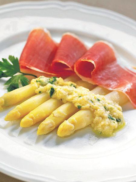 歎「皇子的蔬菜」 時令白蘆筍菜式