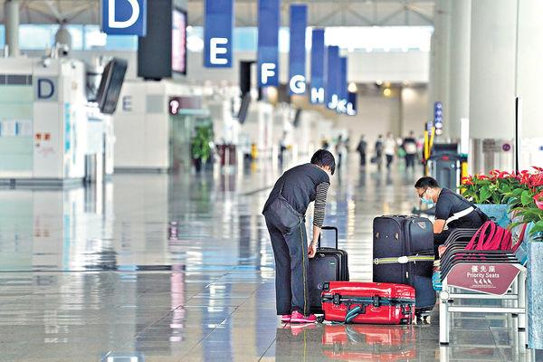 機場首3月客運量跌逾9成 貨運量上月增4.9%