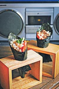 聽Rap音樂 歎創意健康日本菜