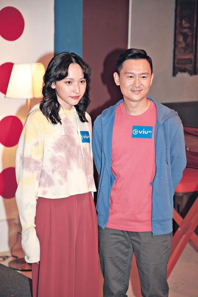 陳漢娜凌文龍拍劇難忍笑