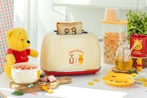 【小熊維尼廚具】韓國推出小熊維尼造型多士爐   輕鬆烤出Pooh Pooh圖案麵包!