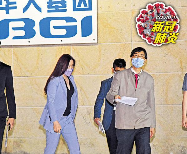 突現30初陽不尋常 袁國勇:疑樣本污染 涉華大基因 28人或「假陽性」