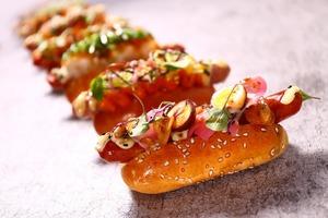 【旺角美食】小食店TOKYO DOLCI登陸旺角朗豪坊  日式迷你熱狗/清酒味意大利雪糕