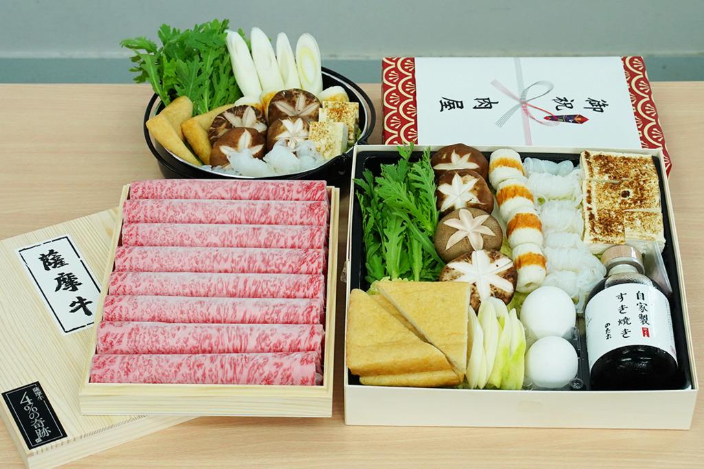 【外賣壽喜燒】送禮一流!超精緻正宗壽喜燒外賣禮盒   歎勻高質A4至A5+級薩摩和牛