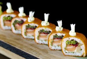 【中環美食】倫敦人氣日本料理aqua Kyoto限定店登陸中環!創意卷物/和牛餃子/打卡日式brunch