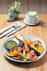 花藝Cafe 嘗低碳健康輕食