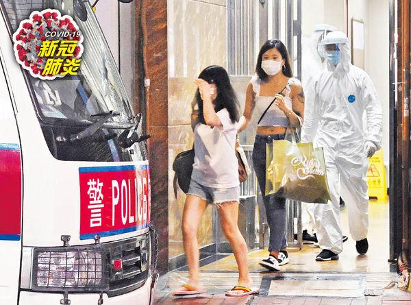 變種毒襲尖沙咀 美園大廈40戶急撤 印度男及女友與29歲菲傭 同日逛東薈城