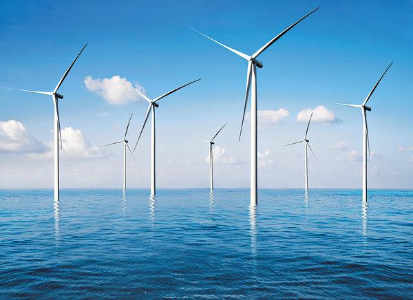 風力發電場的觀賞價值