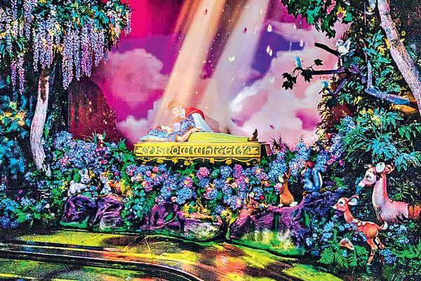 加州迪士尼新設施 「王子吻醒睡公主」被批教壞兒童