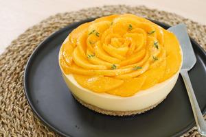 【芒果蛋糕食譜】夏天簡單打卡甜品食譜 免焗芒果慕絲蛋糕