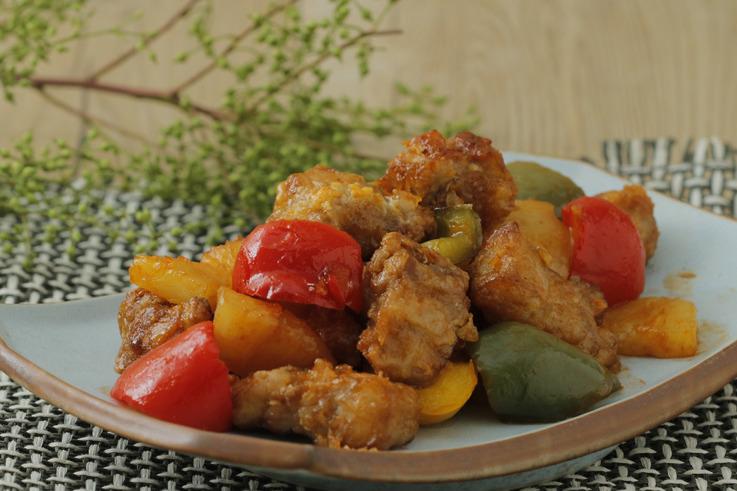 【氣炸鍋食譜】酸甜開胃 氣炸版菠蘿咕嚕肉