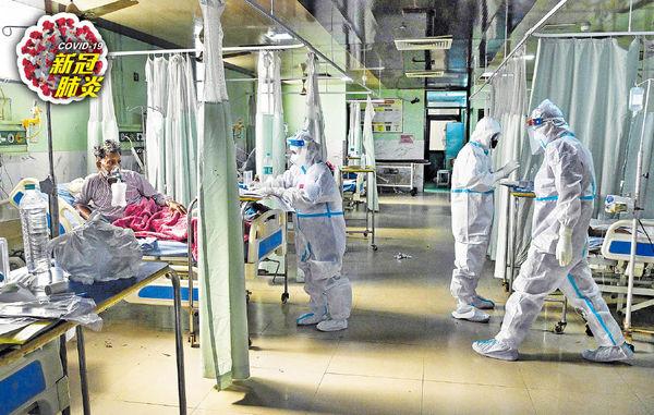 印度疫情續失控 單日確診不治均破頂 鄰國個案飈 尼泊爾恐成「下一個」