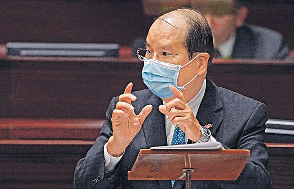 議員質疑意見被當「無到」 張建宗︰續與議會溝通