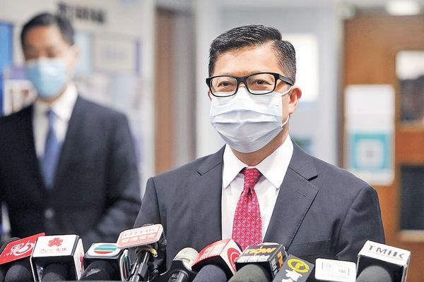 不排除控民陣 鄧炳強︰假新聞如涉國安必處理
