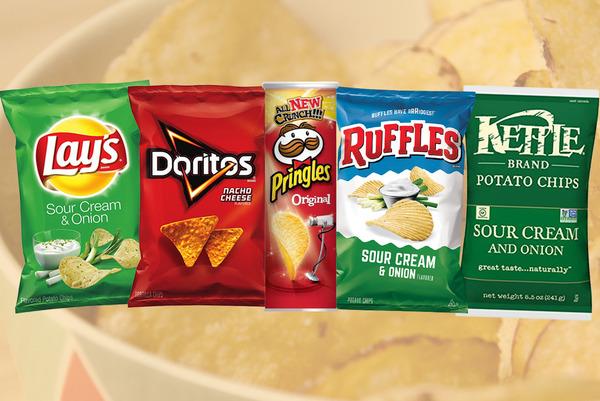 【薯片排行榜】20大世界各地薯片排行榜2021  Lays酸忌廉第8/KETTLE第10/原味Pringles第18