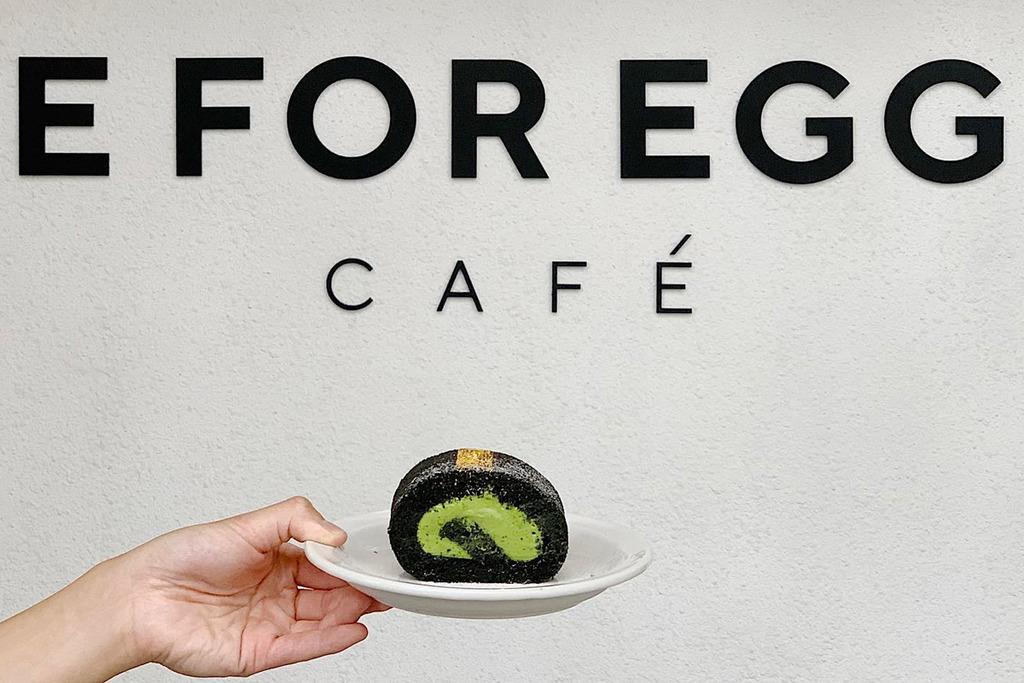 【大圍美食】大圍人氣E FOR EGG開Cafe 滑蛋盒子吐司/雞蛋布丁吐司/米漢堡/奶蓋咖啡