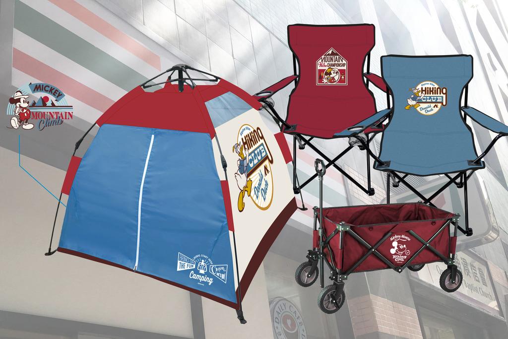 【7-11預購站】7-Eleven便利店推出迪士尼露營用品!唐老鴨帳篷/摺疊式野餐椅/米奇露營推車