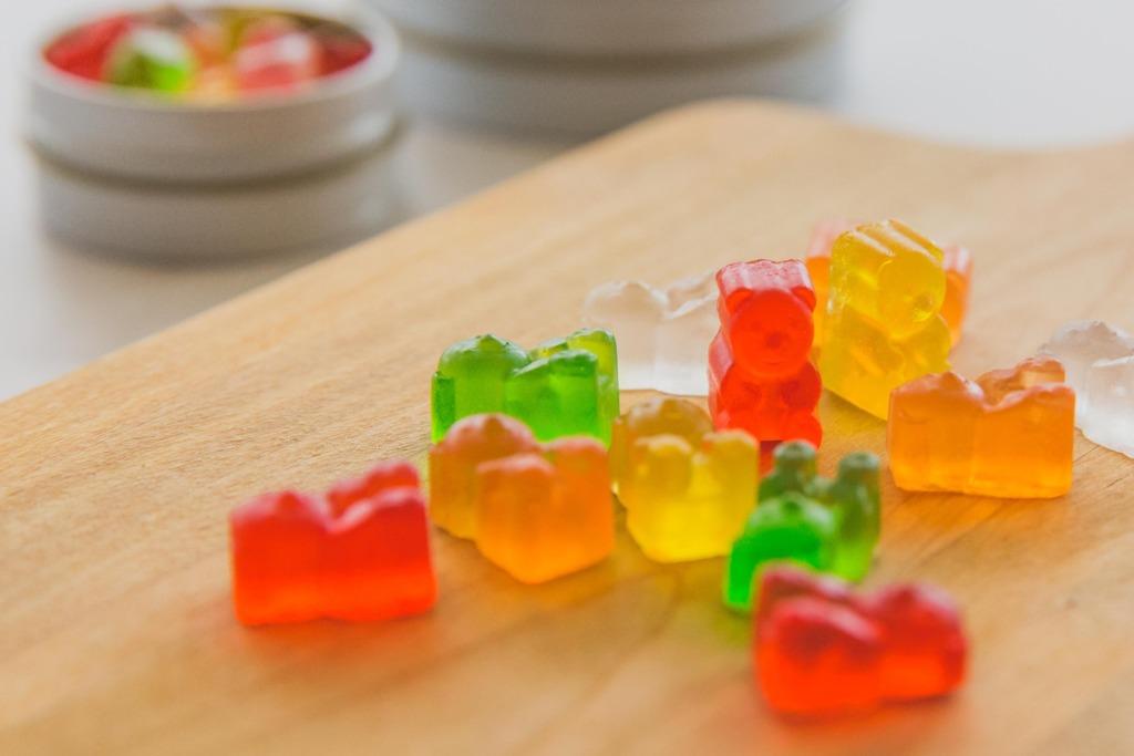 【台灣精品】台灣手工製超像真小熊軟糖造型手工皂 帶陣陣糖果香甜可愛又實用!