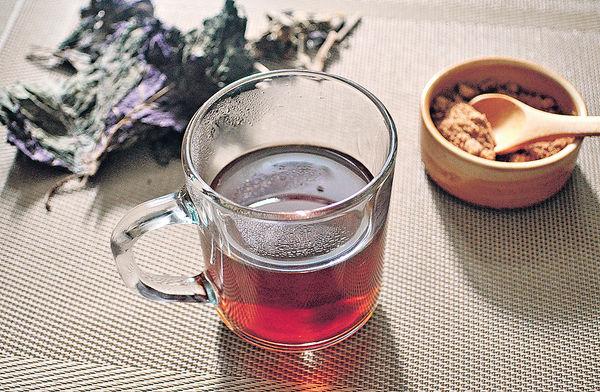 藿香紫蘇葉陳皮生薑茶