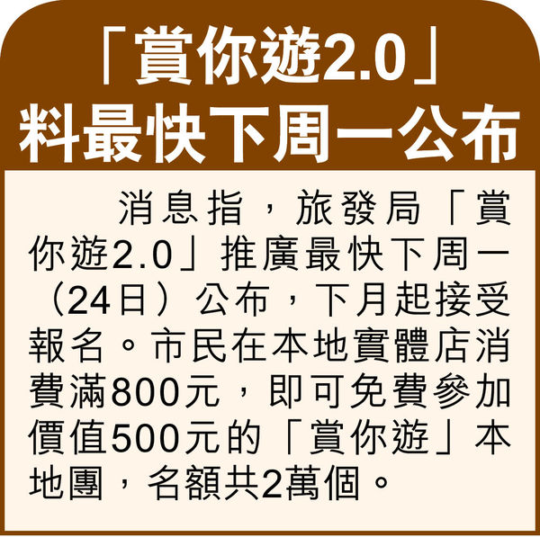 傳批郵輪「公海遊」索價$3000起 7月啟航 旅業現曙光 高鐵站變觀光景點