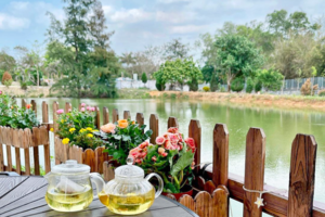 【香港週末好去處2021】上水歐陸田園風小木屋河畔Cafe 池塘園景打卡位/露天茶座/寵物友善餐廳