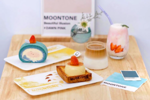 【太子美食2021】長洲角酪太子開姊妹店MOONTONE Cafe 招牌草莓乳酪/焦糖布丁吐司/奶蓋卷蛋